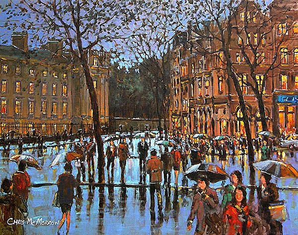 Chris McMorrow - Crossing College Green, Dublin - 165