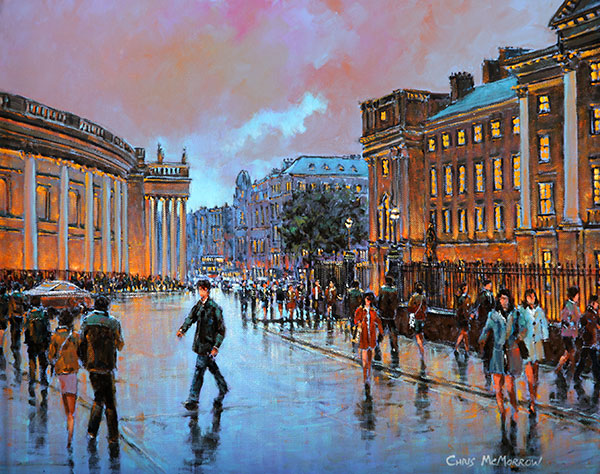 College Green, Dublin - 220 by Chris McMorrow