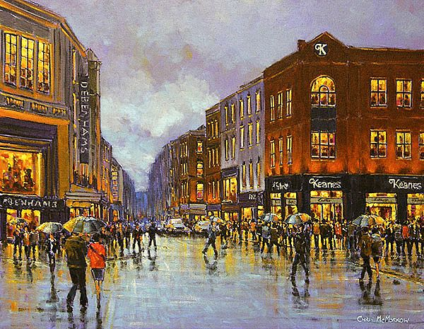 Chris McMorrow - Crossing O'Connell Street, Limerick - 238
