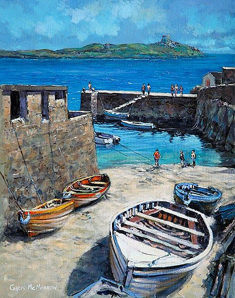 Chris McMorrow - Coliemore Harbour, Dalkey, Co Dublin - 293