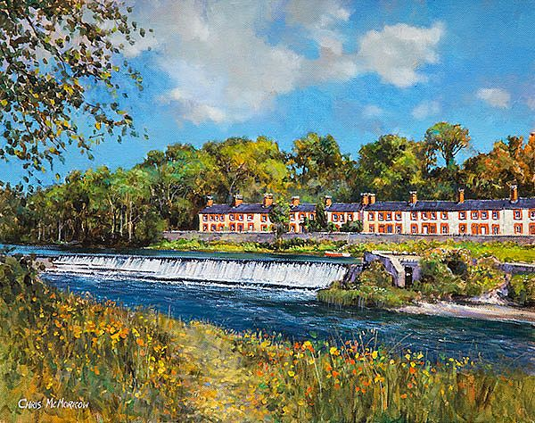 Chris McMorrow - Cottages by the Weir, Lucan, Co Dublin - 299