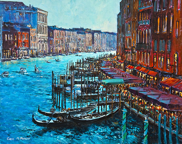 Grand Canal, Venice - 335 by Chris McMorrow