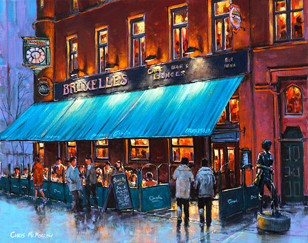 Bruxelles Pub, Dublin - 384 by Chris McMorrow