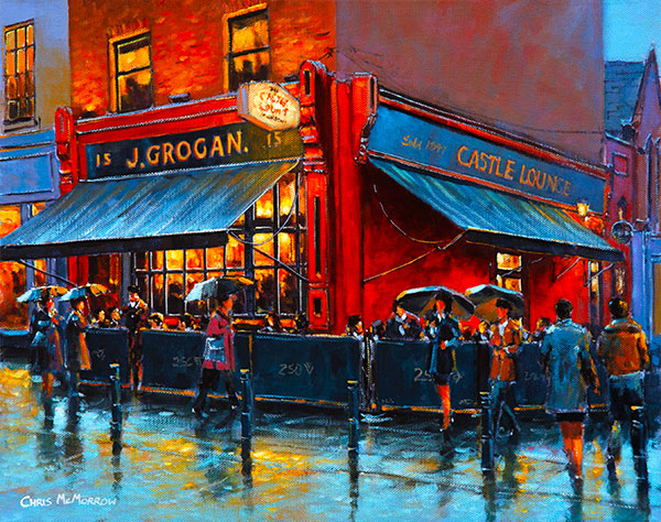 Grogans Pub, Castlemarket, Dublin - 400 by Chris McMorrow