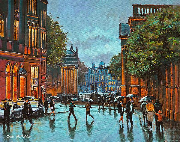 Chris McMorrow - College Green Reflections, Dublin - 410
