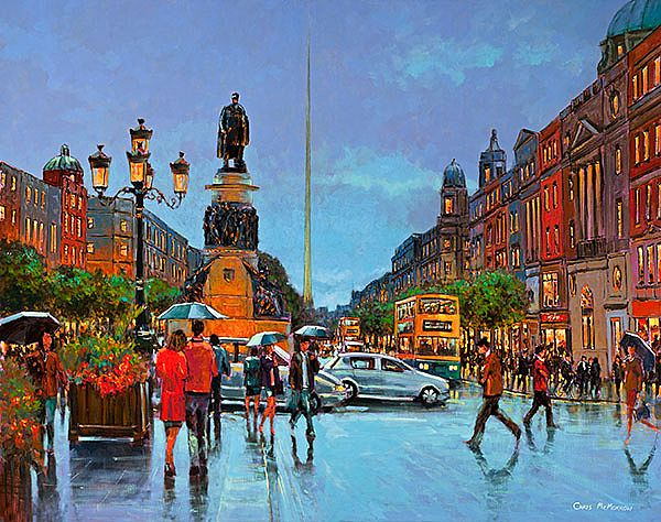 Chris McMorrow - O'Connell Street Traffic - 444
