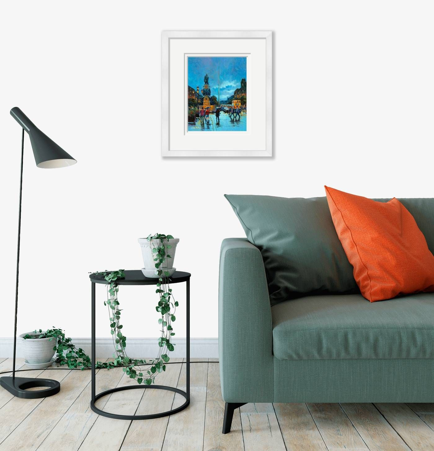 Medium framed - The Spire, O'Connell Street - 449 by Chris McMorrow