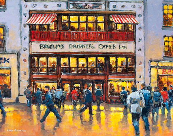 Bewleys Café, Dublin - 485 by Chris McMorrow
