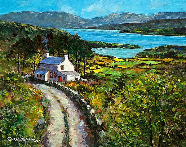 Chris McMorrow - Cottage by the Lake - 515