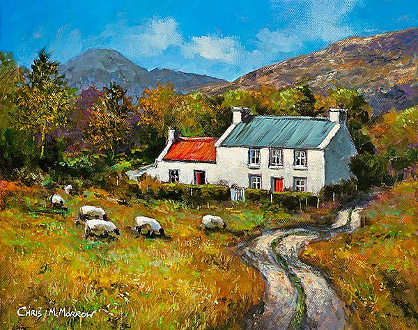 Chris McMorrow - Cottage in the Valley -  516