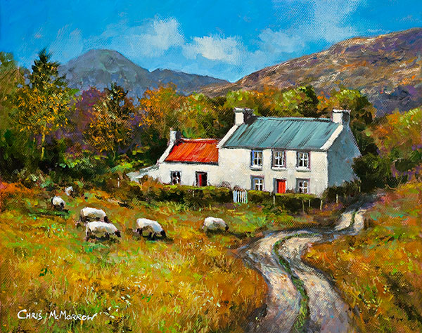 Cottage in the Valley -  516 by Chris McMorrow