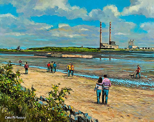 Chris McMorrow - Out for a Walk, Sandymount - 519