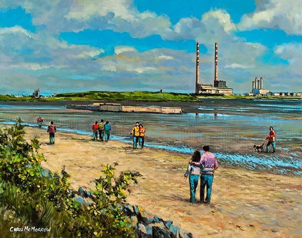Out for a Walk, Sandymount - 519 by Chris McMorrow