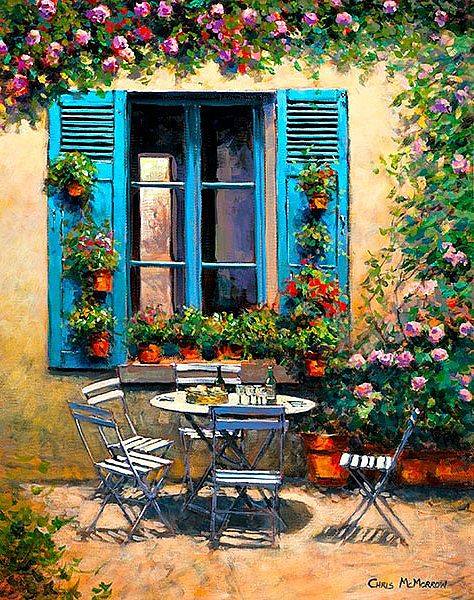 Chris McMorrow - The House with the Blue Shutters - 548
