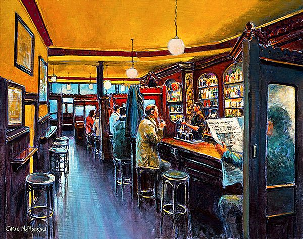 Chris McMorrow - An Afternoon Pint, Kehoes Pub, Dublin - 573