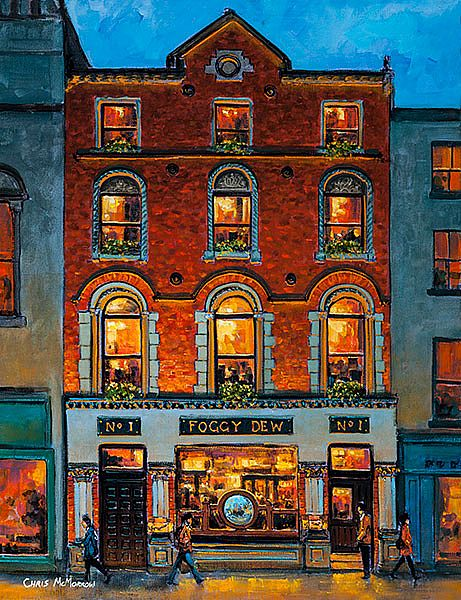 Chris McMorrow - The Foggy Dew Pub, Central Bank Square, Dublin - 719
