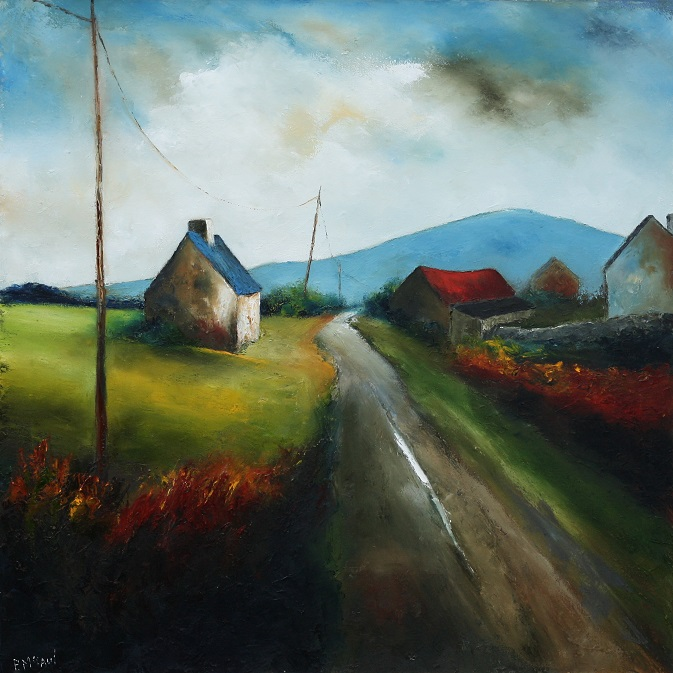 A Country Road by Padraig McCaul