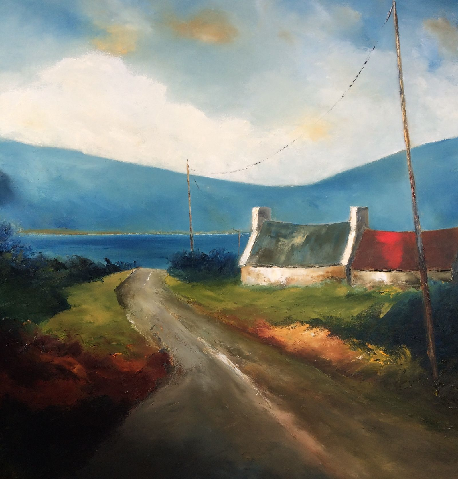 A Turn in the Road  by Padraig McCaul