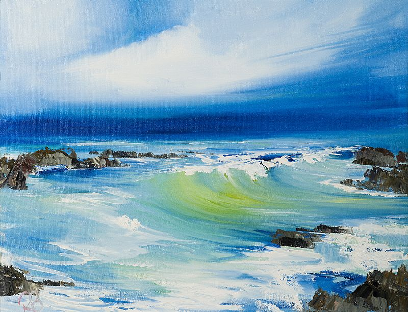 Rosanne  Barr - Waves catching the light